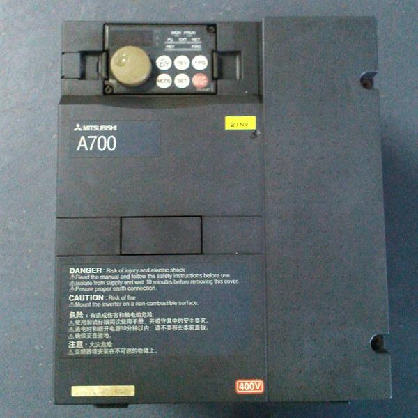 三菱a700变频器维修 驱动电路老化 由于较长年限的使用,必然导致元器