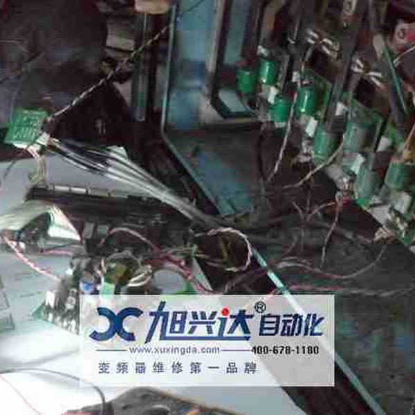 秋山印刷机变频器维修