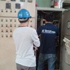 佛塑集团三菱变频器CO2故障维修现场