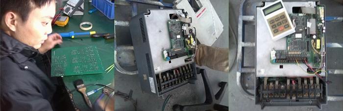 is5变频器gf故障维修