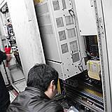 印花机安川变频器CE故障维修