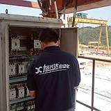 龙门吊安川变频器LL3故障维修