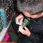 伟肯变频器电源故障维修