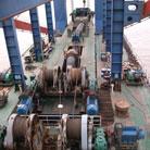 船舶水下泵设备维修现场08